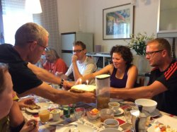 Cake for Ulrike's birthday