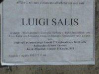Luigi Salis funeral