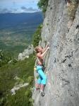 Ogliastra bietet viele Sardiniens jüngste Neurouten an. Im Foto Monte Oro Baunei