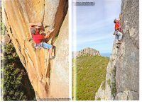 Peter featured in 2011 Pietra di Luna climbing guide