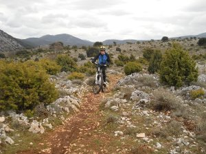 Sardinia mountain bike Urzulei