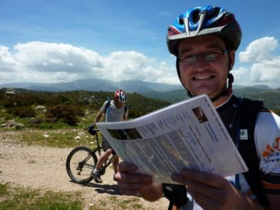 Description of Talana Sorberine mountain bike ride, east coast Sardinia