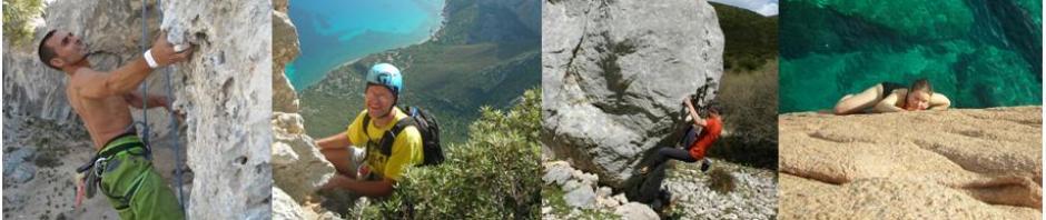 Ogliastra Sardinia climbing: sports climbing, multi-pitch, bouldering, deep water solo DWS