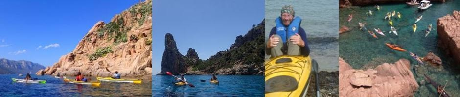 Kayaking east coast Sardinia