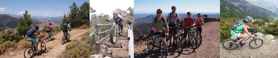 Sardina offers mountain bike trails for everyone